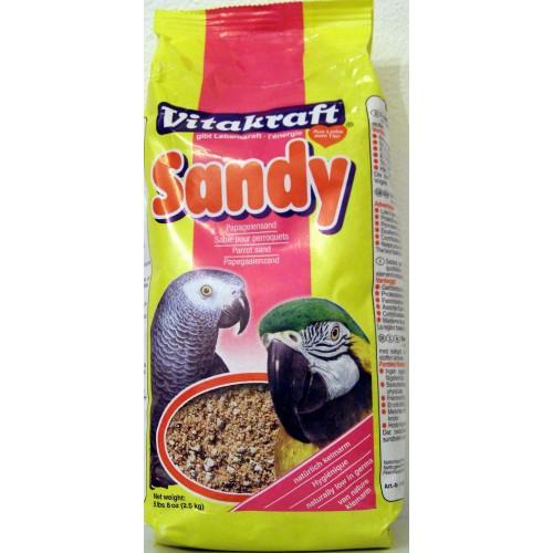 Sandy parrot sand