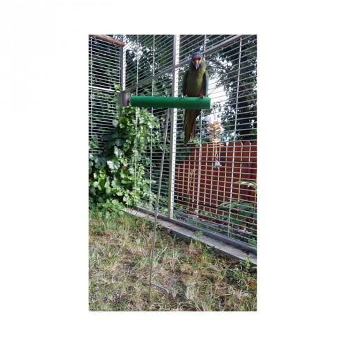 záhradný stojan s brúsnym bidlom