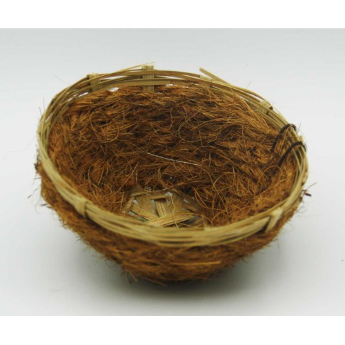 Hniezdo z kokosových vlákien