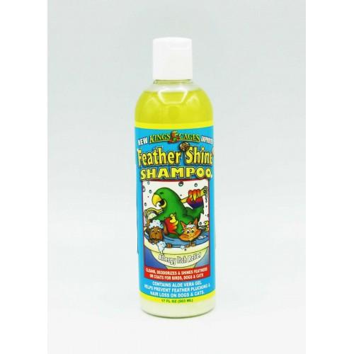 šampon (nie len) pre papagáje