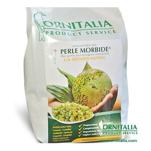 Perle morbido fruits green